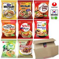Nong Shim Instant Noodle Soup Ramyun Ramen (Pack of 20) - Shin, Veggie, Neoguri