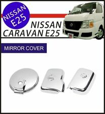 Chrome Door Side Rear View Mirror Cover Trim for NISSAN E25 Caravan Urvan 01-12