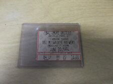 JUNE 20,1994 BALTIMORE ORIOLES VS MILWAUKEE BREWERS  TICKET STUB