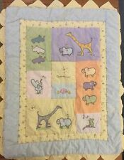 Carters Real Love John Lennon Baby Comforter Blanket Crib Quilt Animals (47)