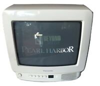 "Vintage Panasonic CT-9R10T 9"" CRT TV Retro Gaming Television No Remote"