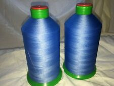 heavy duty sewing thread 2 rolls bonded nylon no 60