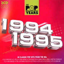 """The Pop Years 1994-1995 """"NEW 2CD SET"""" 40 Tracks 1st Class Post From The UK"""