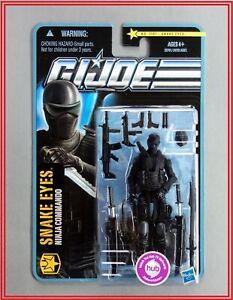New GI Joe Pursuit of Cobra POC 1101 Snake Eyes