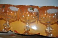 6 anciennes coupes à champagne Luminarc - Champagne glasses -  Modèle Lance