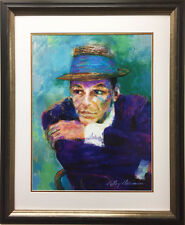 "LeRoy Neiman ""Frank Sinatra - The Voice"" CUSTOM FRAMED Art Lithograph RAT PACK"