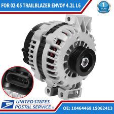 GMC Envoy    2002 to 2005    6 Cylinder 4.2Liter Engine 150AMP Alternator