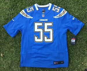 Nike Junior Seau San Diego Chargers Sz LARGE Mens Game Retired Player Jersey LA