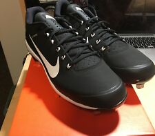 Nike Air Clipper '17 Mens Baseball Cleats Black Size 11.5 Brand New With Box