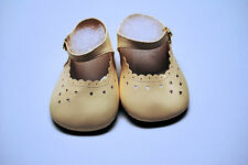 115mm Cream Heart Cut Custom Doll Shoes Wide Width fit Himstedt Dolls & Others