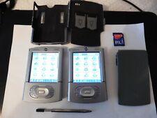 Palm PDA Tungsten T3 Palm Pilot Colour PDA x2 UNITS Vintage handheld organizer