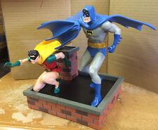 "Silver-Age Batman and Robin 9½"" Full Size Statue 781/850 Infantino DC Direct NIB"