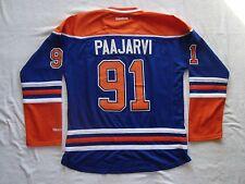 PAAJARVI #91 Edmonton Oilers Blue Women's Premier NHL Reebok Jersey NEW Size XL
