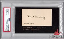 Robert Benchley signed cut PSA DNA Slabbed Auto Actor Comedian C323