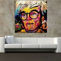 "Alec Monopoly Print on Canvas Graffiti art wall decor sale Andy Warhol 28x28"""