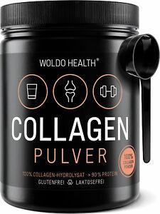 Collagen Protein Pulver 100% reines Rinder Kollagen – inkl. Messlöffel
