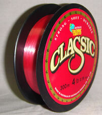 Platypus Classic 4lb x 300m Mono Line - Red *New in Packaging*