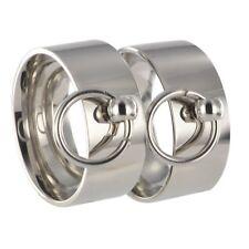 2 anelli S & M BDSM Anello dell'O Master sub slave interno + incisione esterno incl. 20117a