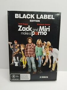 Zack And Miri Make A Porno (DVD, Black Label Edition, Region 4) *Free Shipping*