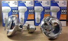 6 x STATUS R63 42W ES HALOGEN SPOT REFLECTOR BULBS E27 LARGE SCREW