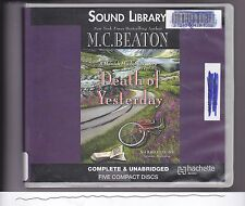 Death of Yesterday : A Hamish Macbeth Mystery by M. C. Beaton (2013, CD, Unabrid