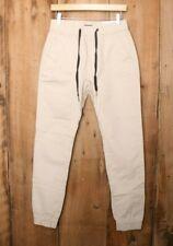 ITALY MORN Light Khaki Stretch Chino Jogger Pants Sz. XS (28x31)