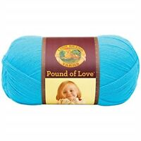Lion Brand Pound Of Love Baby Yarn-turquoise