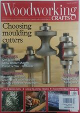 Woodworking Crafts UK July 2017 Choosing Moulding Cutters FREE SHIPPING sb