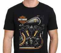 Davidson Motorcycles Costum Men's T-Shirt Size: S-M-L-XL-XXL