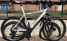 "Bike Mountain Bike Carbon Saccarelli 26 "" Shimano XTR Rock Shox Reba MTB Carbon"