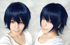 Short Dark Blue &Black For Cosplay Uta No Prince-sama Ichinose Tokiya COS Wig