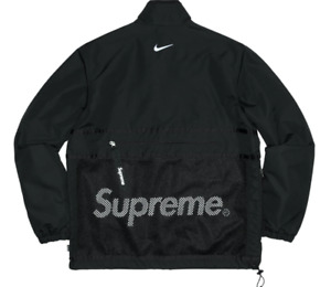 Supreme Nike Trail Running Humara Jacket - Black - Size Large - FW17 Season