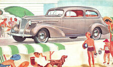 "1937 Chevrolet Coach ""The Complete Car - Completely New"" Postcard"