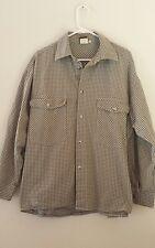 Vintage Cross Colors Men's Work Shirt Jacket Size 1 (XL) ~