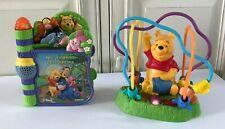 ♥ Lot Disney Livre Vtech Winnie L'ourson + Abeilles Voltigeuses Mattel Sons ...