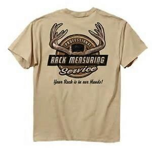 Buck Wear Hunting T-Shirt - Rack Measuring Service - Men's Antlers