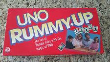 Vintage UNO Romme Up Game #02 - 1993 Mattel-komplett-super sauber!