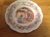 Royal Doulton Brambly Hedge ( 1 Plate 21cm 4 Seasons ) 6 Available. 1st Quality.