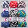 """100g 4-fach Sockenwolle Gründl """" Soxs Color """" Socken Wolle zum stricken"""