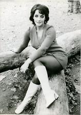 Yvonne Paul  Vintage silver Print Tirage argentique  13x18  Circa 1969