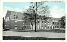 1940s Printed Postcard; Gymnasium, S.I.N.U., Carbondale IL Jackson County