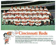 1970 CINCINNATI REDS THE BIG RED MACHINE 8X10 TEAM PHOTO RARE BIG BOY NEVER SEEN