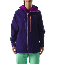 NWT The North Face Women Free Thinker Jacket, Gore Tex Pro, Purple, XS, $649