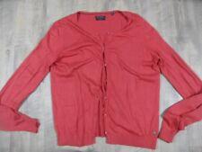 Marc O POLO Cotton Yak bella leggero Cardigan Arancione Taglia XL Top kos1217