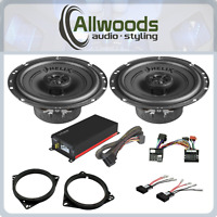 Plug & Play HELIX F 6X speakers and Vibe Micro Amp Upgrade Ford Focus Mk2