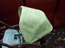 Replacement Sun Canopy for Bugaboo Stroller Bee3 GREEN SUEDE