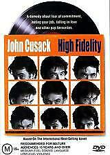 High Fidelity (John Cusack, Iben Hjejle, Todd Louiso, Jack Black) New Dvd