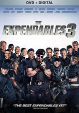 The Expendables 3, DVD, Gibson, Mel, Ford, Harrison FREE SHIPPING !!!