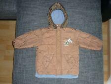 ESPRIT-Kinder Baby Winterjacke Jacke mit Kapuze Jungen Hellbraun-Schlamm Gr.92