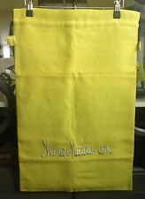NEIMAN MARCUS Chartreuse Lime Artisan Handmade Boots Protector Bag Mother's Day